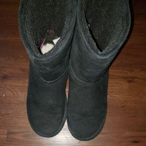 Barepaw Black Boots